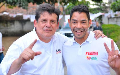 Víctor Ramírez visitó el municipio de Villa Rica