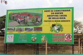 Villa Rica tendrá nueva infraestructura hospitalaria