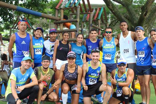 Villaricenses corrieron por la salud en el reto 4k