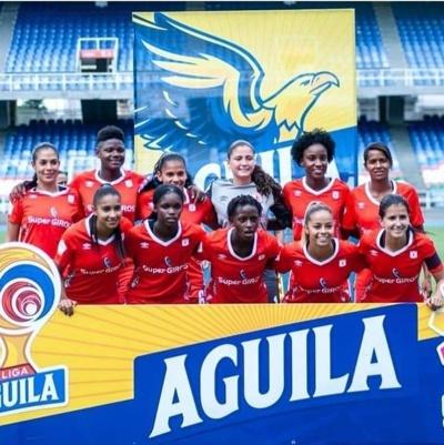equipo femenino América de Cali