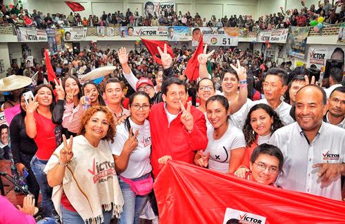 Colonias en Popayán votarán por Víctor Ramírez