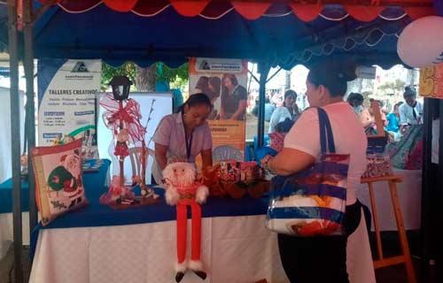 Comunidad de El Bordo participó en Feria Multisectorial