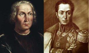 De la Tierra Firme de Colón - A la Independencia de Bolívar