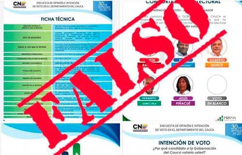 Denuncian encuesta falsa ante Tribunal de Garantías y Vigilancia Electoral