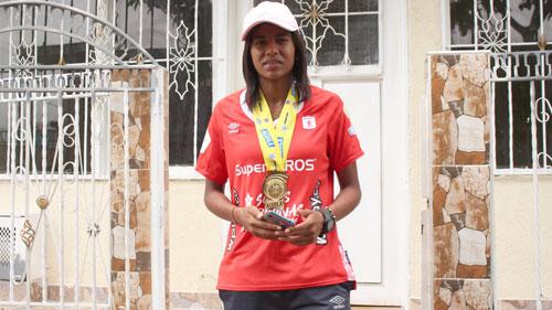 Deportista Quilichagüeña Campeona en la liga de fútbol femenina 2019