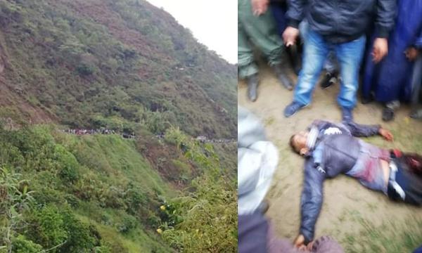 Hoy continuó el genocidio en el norte del Cauca