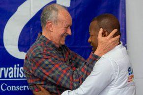 José Gabriel Silva afirmó su apoyo al candidato Elias Larrahondo