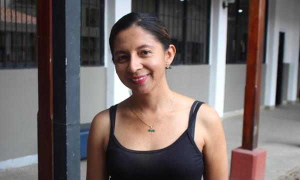 Adriana Tombé, integrante del Comité Armonía Caucana.