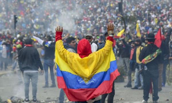 Levantamiento indígena y popular en Ecuador