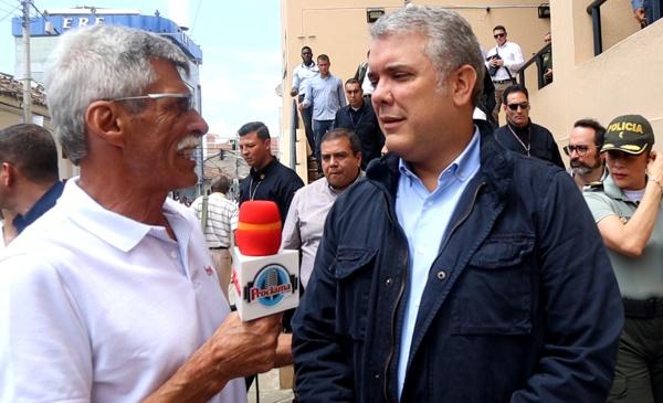 Alfonso Luna Geller / Presidente Iván Duque Márquez.