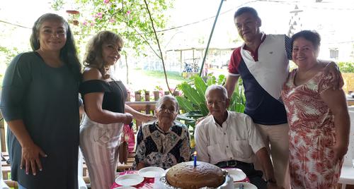 Los Galarza celebraron sus cumpleaños rodeados de cariño
