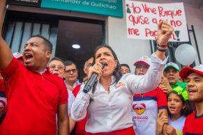 Los 100 días de Lucy Amparo Guzmán