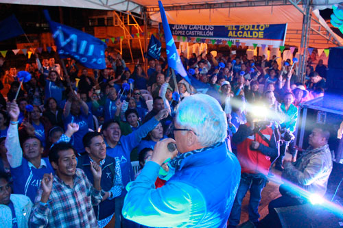Más lideres del Partido Político Mira apoyan a Juan Carlos López
