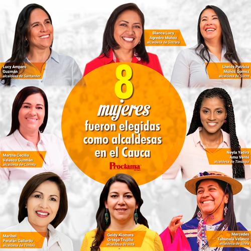 Mujeres de Colombia, ¡vamos por más!
