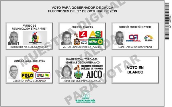 ¿Conocen los quilichagueños los candidatos a Gobernación?
