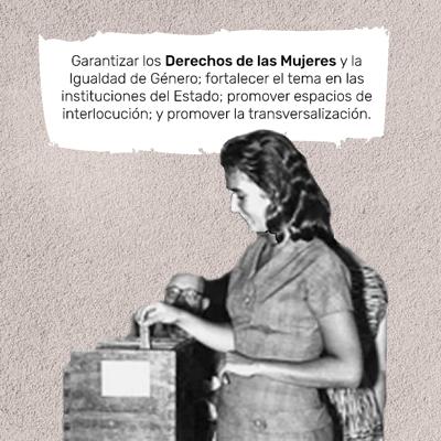 LAS MUJERES EN LA POLÍTICA COLOMBIANA