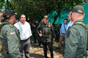 "Óscar Campo ""Vamos a restablecer el orden luego de acto terrorista"""