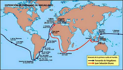 """""""El viaje más largo: la primera vuelta al mundo"""""""