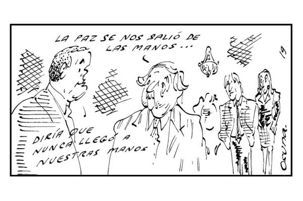 Una caricatura de osuna