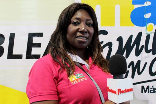 Gloría Omaira Córdoba, enlace municipal del programa Familias en Acción