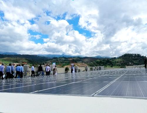 CEO desarrolla el proyecto de energía solar más grande del departamento del Cauca