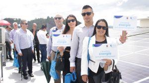 CEO entregó el mayor proyecto de energía solar del Cauca