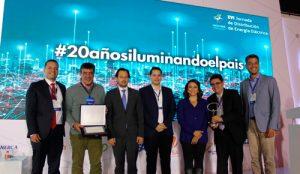 CEO recibió premio Ámbar por innovación en la prestación de servicio