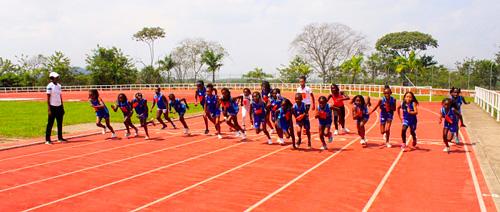 En Caloto se forman futuros atletas