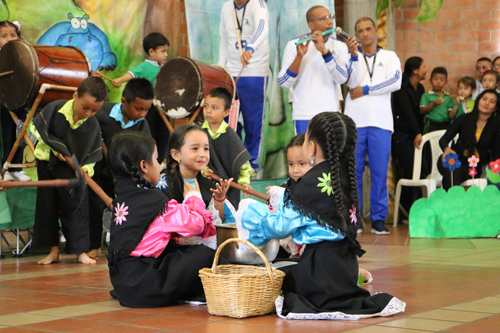 Confiarte, educación y arte para niños en el Cauca