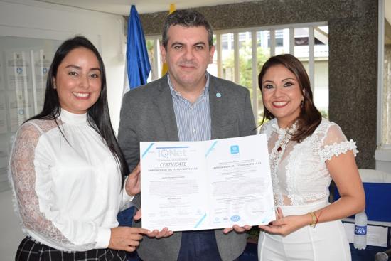 ESE Norte 2 recibió oficialmente certificación a la calidad Icontec