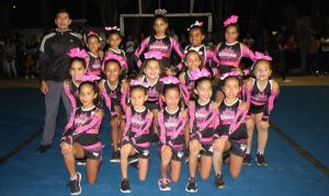 Equipo Thunder Cheer realizó showcase