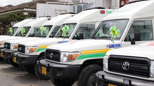 Gobierno de Óscar Campo entregó red de ambulancias