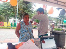 II jornada de vacunación en Balboa y Sucre