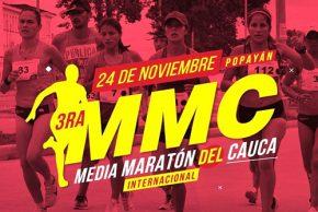 Llega la tercera Maratón del Cauca