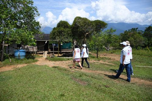 Piedemonte se capacitó para prevenir el Dengue y Leishmaniasis