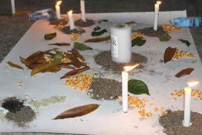Realizan velatón por la paz en Villa Rica