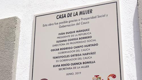Se inauguró Casa de Equidad para la Mujer
