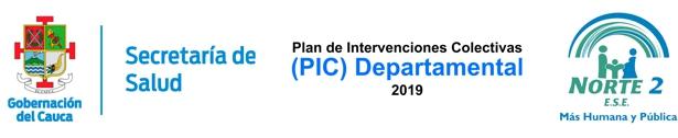 Secretaría de Salud del Cauca - Plan de Intervenciones Colectivas - ESE Norte 2
