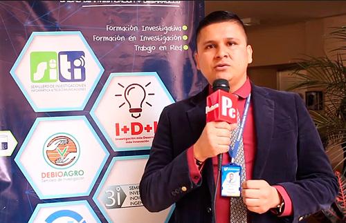 Coordinador del Programa Agroambiental de Unicomfacauca, David Alejandro Muñoz