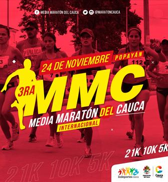 Tercera Media Maratón del Cauca