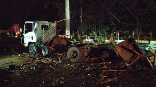 Tres muertos por camión bomba en Santander de Quilichao