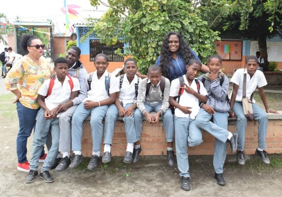 Zonas de Orientación Escolar previenen deserción escolar en la I.E. Jorge Eliécer Gaitán en Guachené.