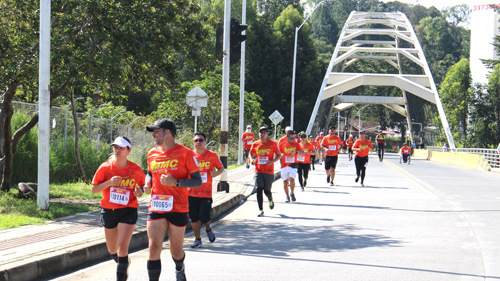 El Cauca vivió una fiesta deportiva con la Media Maratón