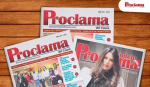 En circulación la edición impresa No. 418 de Proclama del Cauca