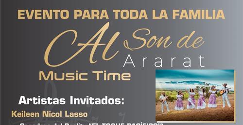 Invitación al Music Time