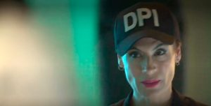 Katherine Vélez, la coronel de la actuación