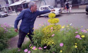La Paz florece en jardín comunitario