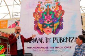 Lanzamiento oficial Carnaval de Pubenza 2020