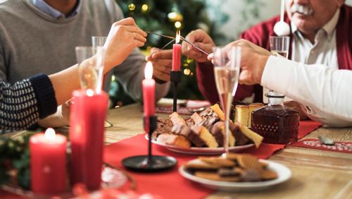 ¡Disfruta una Navidad saludable!