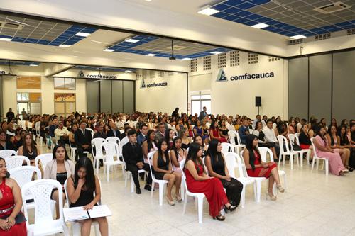 Nuevos Técnicos Laborales del Centro de Capacitación de Comfacauca